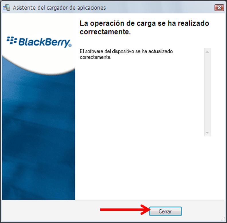 Cómo actualizar el Sistema Operativo de BlackBerry